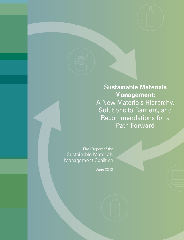 sustainable materials management Sustainable materials management (smm) is a systemic approach to using and reusing materials more productively over their entire life cycles it represents a change in how our society thinks about the use of natural resources and environmental protection.