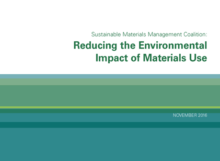 Reducing the environmental impact of material use